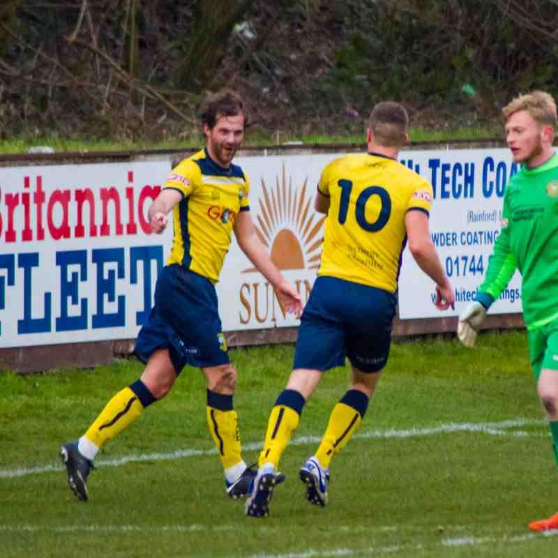 Skelmersdale United v Tadcaster Albion