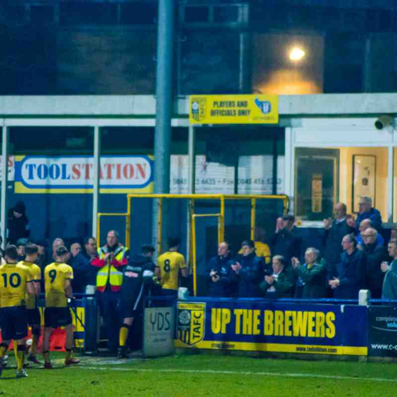 Tadcaster Albion v Colwyn Bay