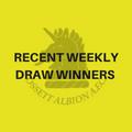 Recent Weekly Draw winners