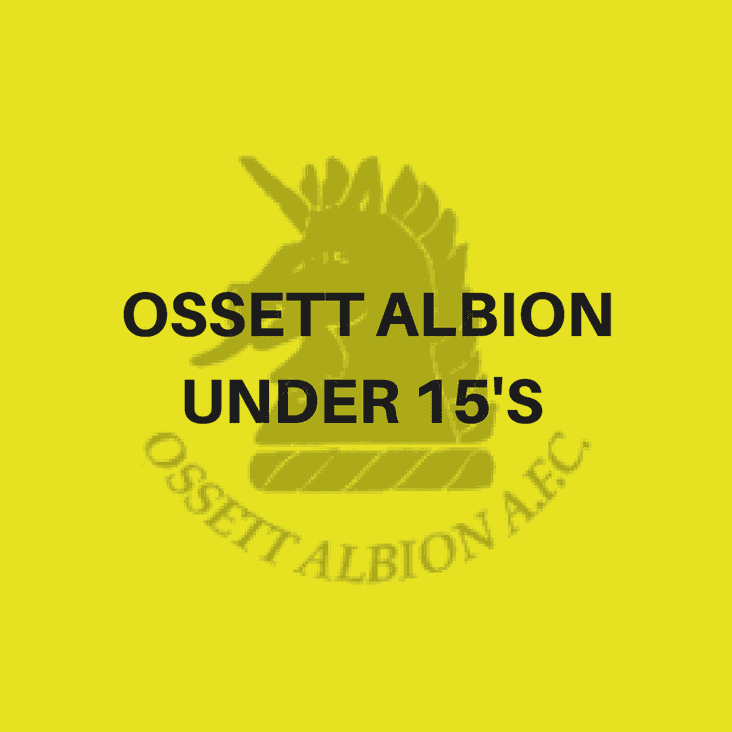 Ossett Albion U15A are looking for new players for the 2017-18 Season