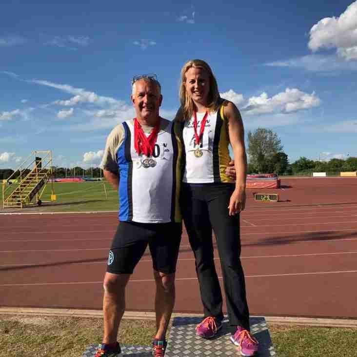 Jo Blair wins Javelin Carnival in Loughborough
