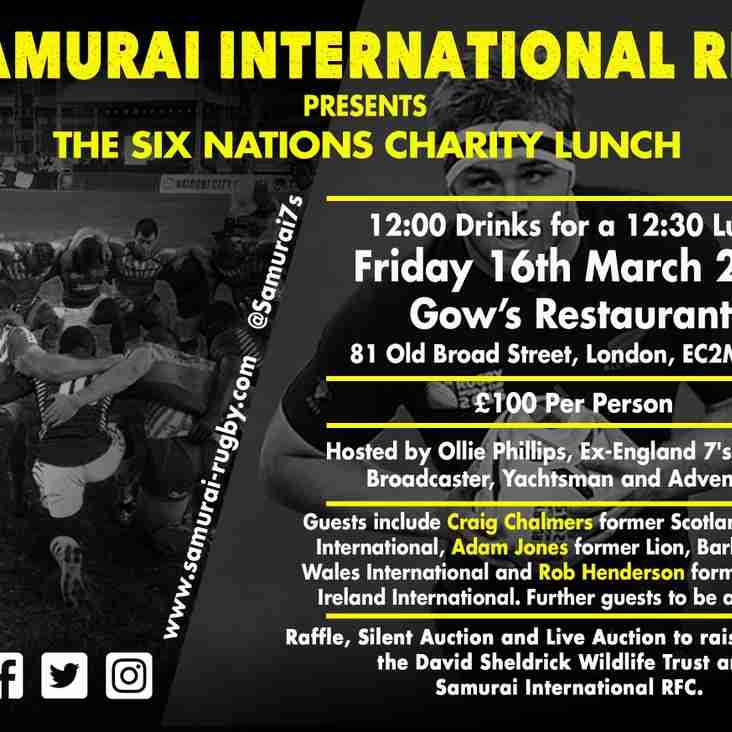 Places Still Available For Six Nations Lunch