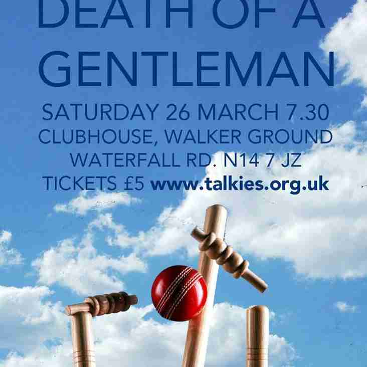 The Walker Cricket Ground and Talkies Community Cinema present the cricket documentary Death Of A Gentlemen