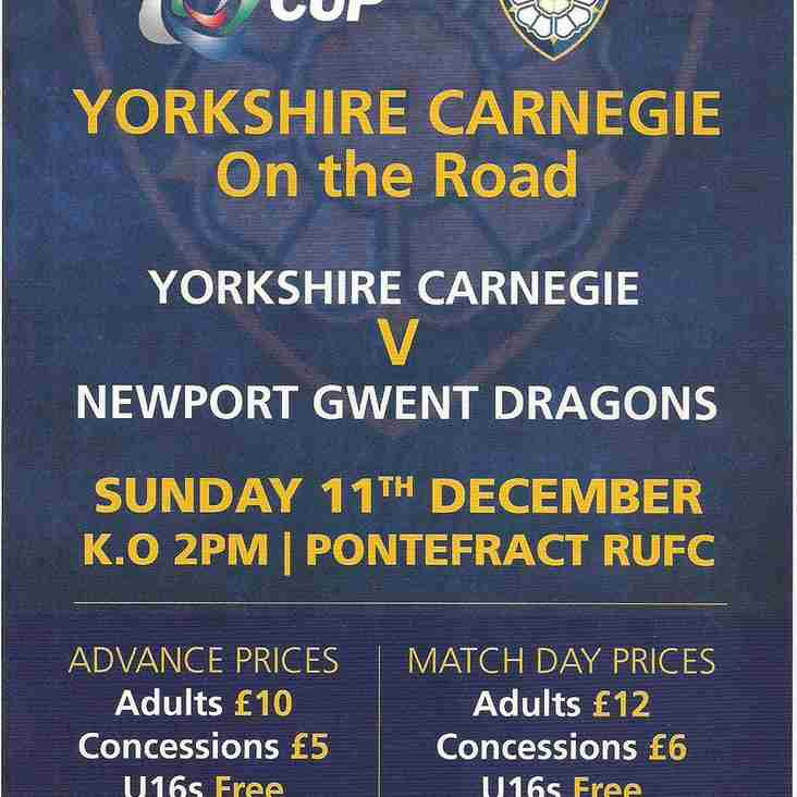This Sunday's Carnegie game