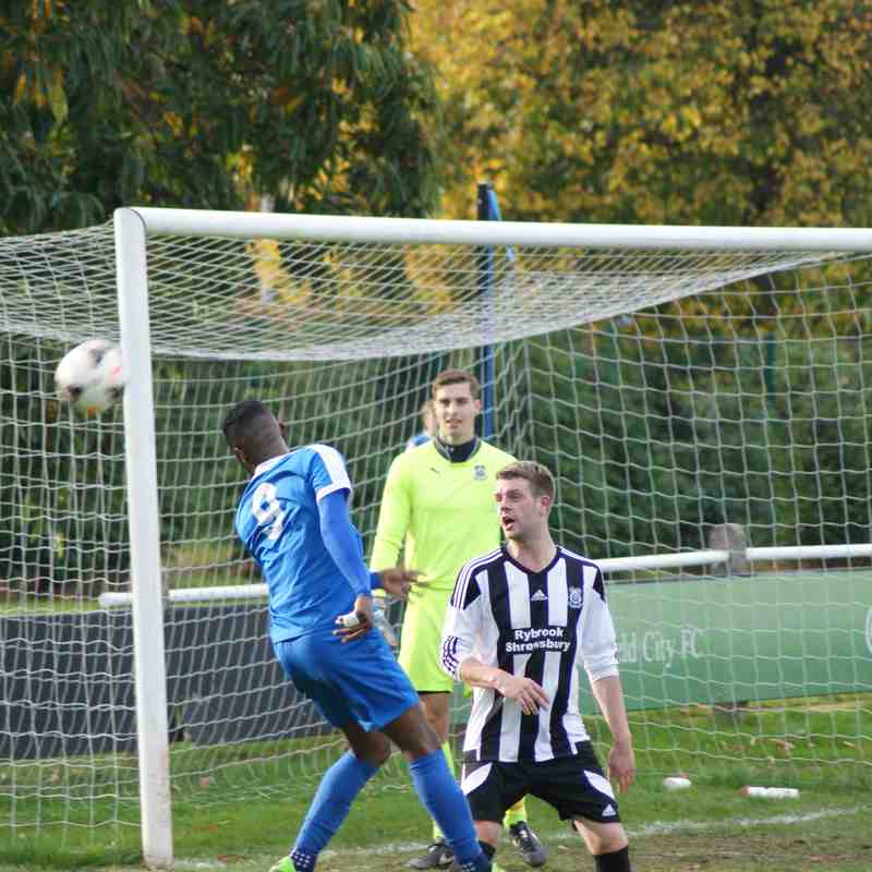Lichfield City F.C. v Shawbury United - Sat 22 Oct 2016