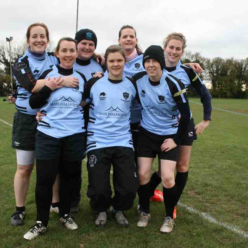 FRFC Ladies 3rd Tournament @ Andover 22/11/2015