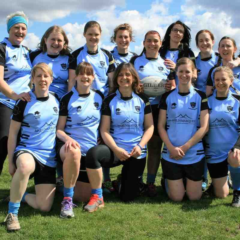 FRFC Ladies Tournament @ Fordingbridge RFC 17/4/2016
