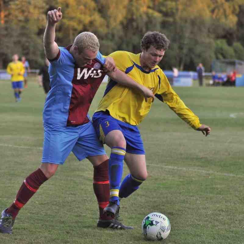 FA Cup game Hamworthy `v` Lymington 1-0