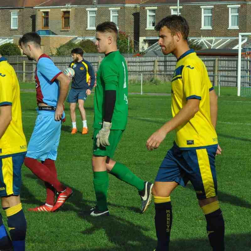 Hamworthy win against Moneyfields 1-0