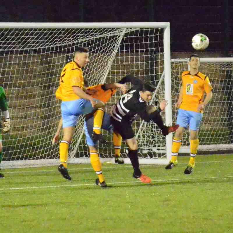 17/01/17 Hamworthy get a win against Bemerton 1-0