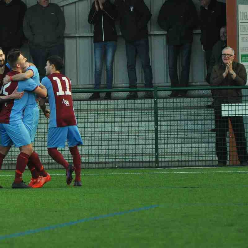28/01/17 hammers win against  sholing