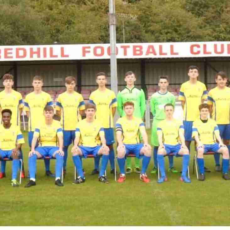 Redhill U18 v Crowborough Athletic U18