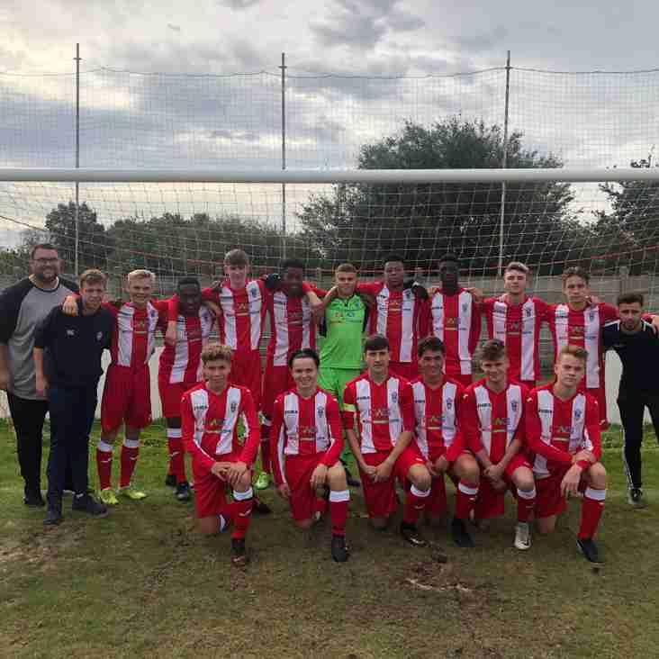 Big Win For U18 Sunday Side