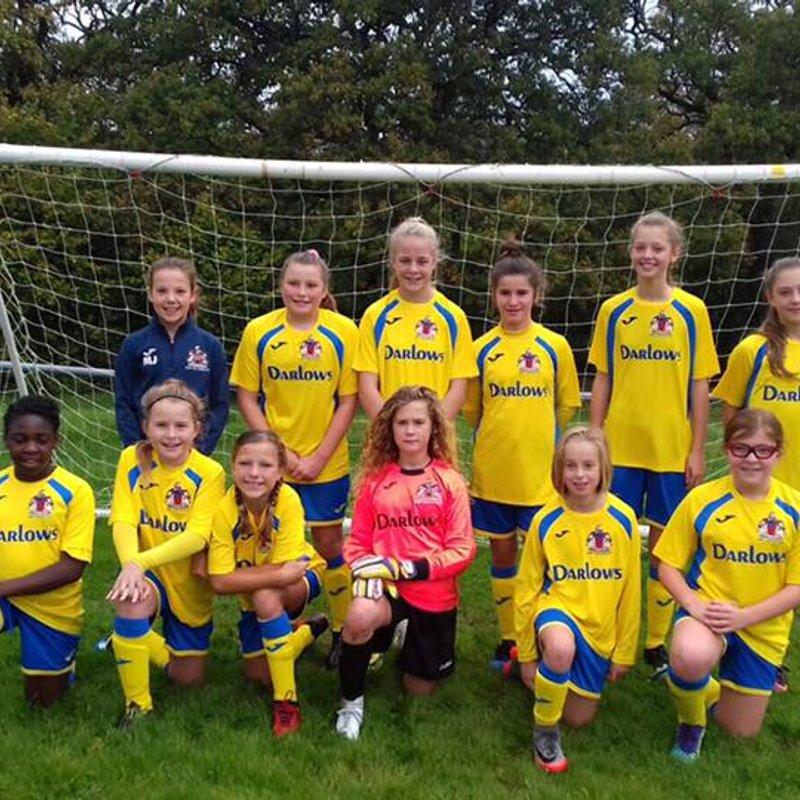 U12 Girls Crowned Regional Champions