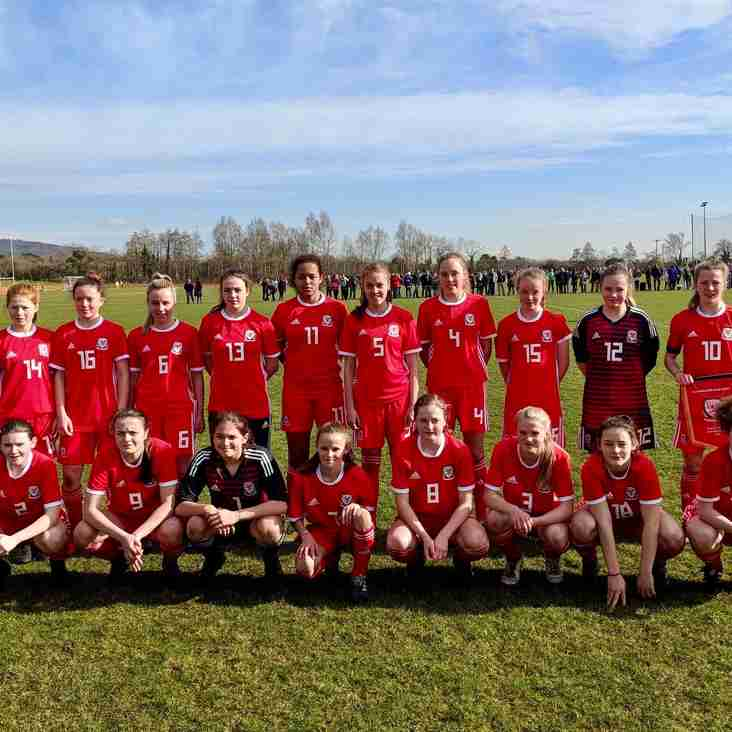 Barry players represent Wales U15's in Home Nations Tournament