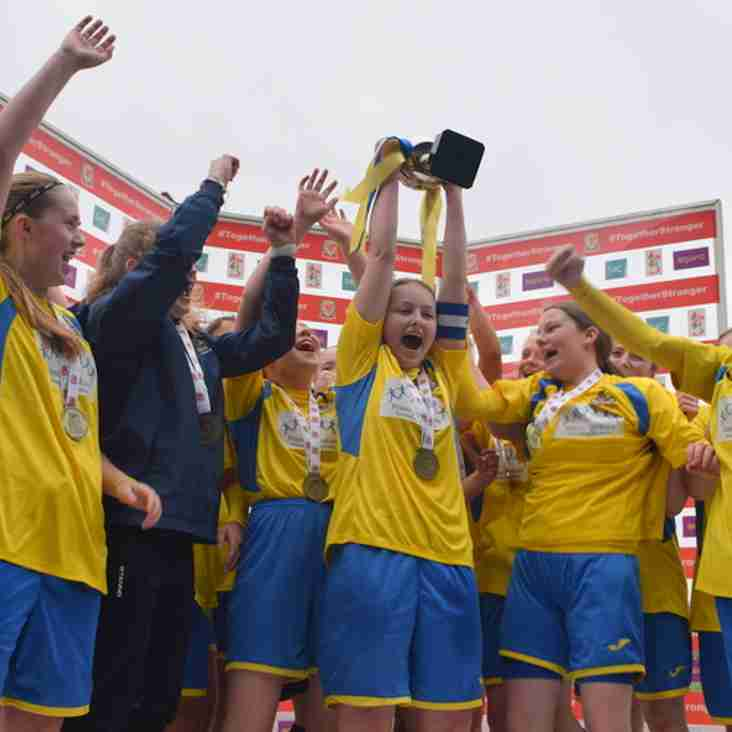 U16's win the FAW Cup
