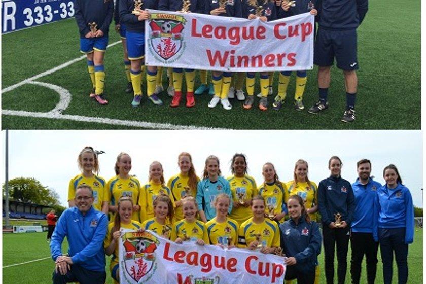 U12 & U15 Girls win League Cups