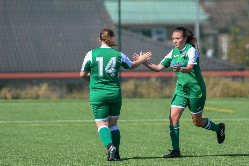 Ladies kick off Pre-Season with comfortable win.