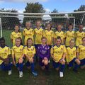 Under 13 Dragons beat Abergavenny Town 2 - 1