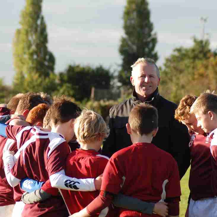 Ruislip Under 13s meet World Cup Winner Sean Fitzpatrick
