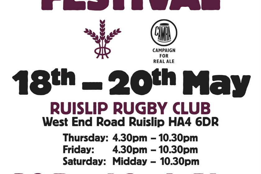 Ruislip Beer Festival - 18th - 20th May