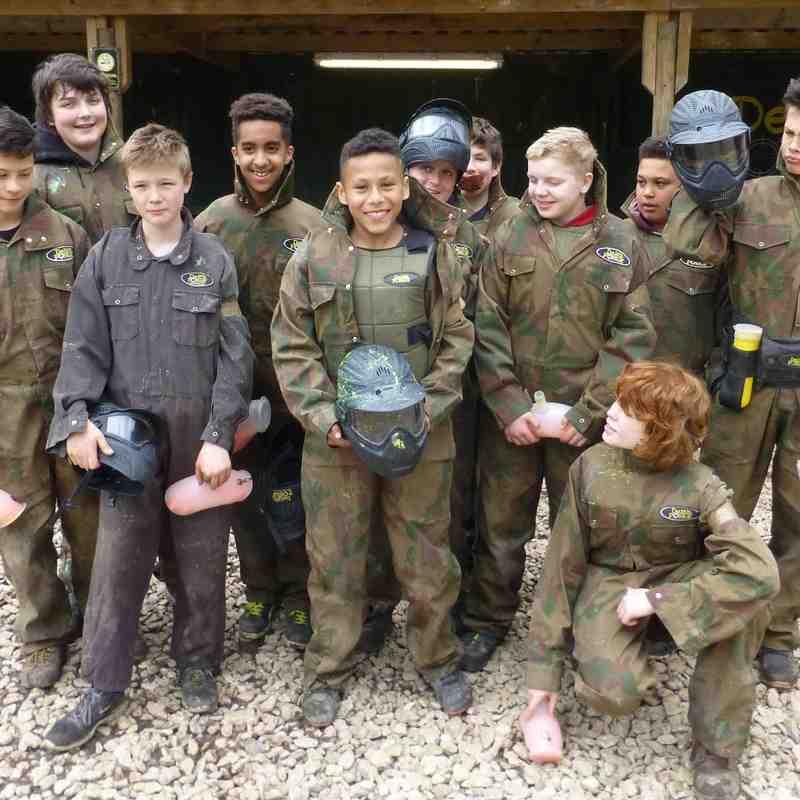 Delta Force Paintballing April 2016