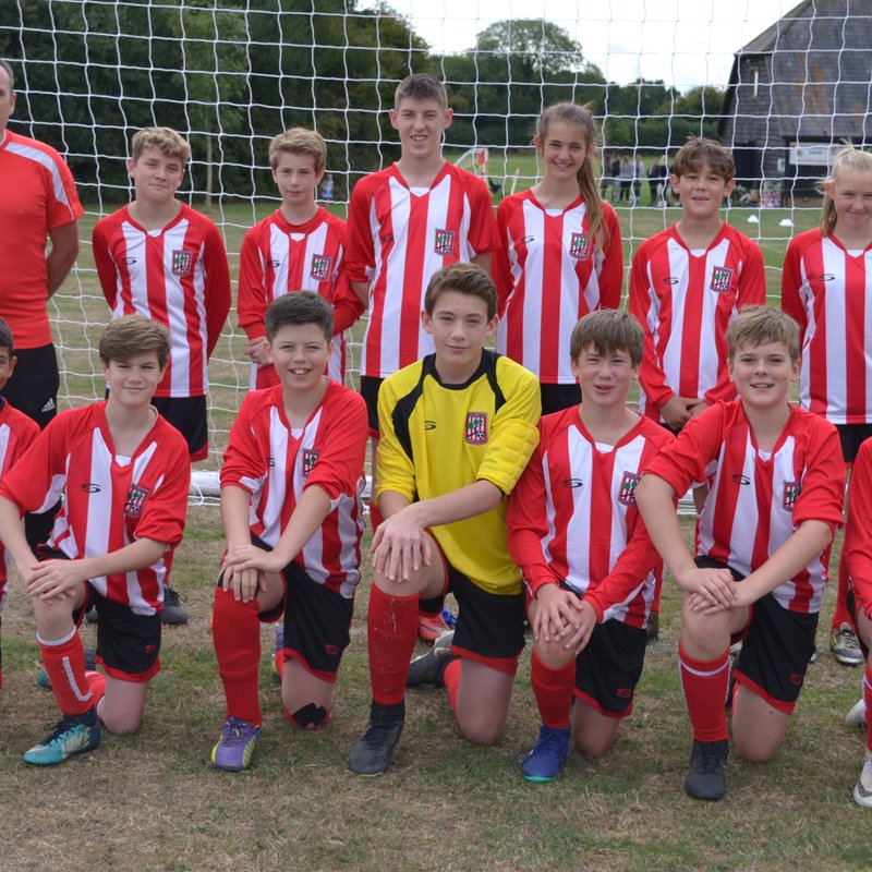 UNDER 14's lose to Simply Soccer Spartans 9 - 0