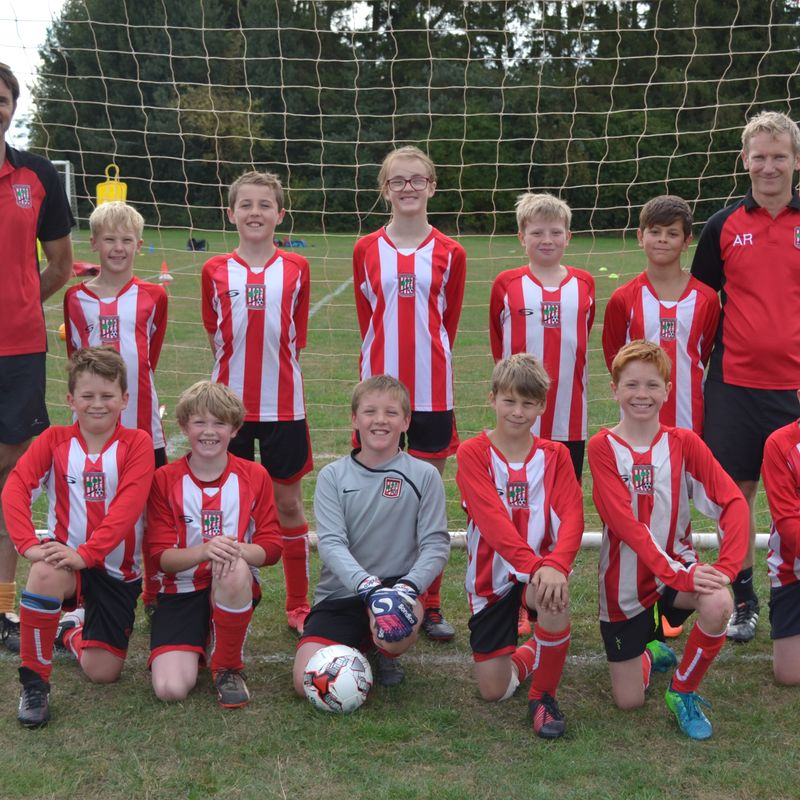 U12 Reds win 3-2 against Winsor