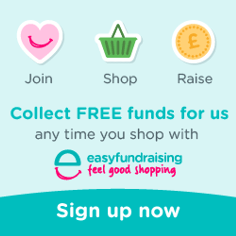 Fundraising for us is just a click away!