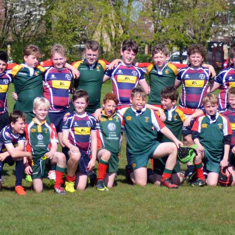 Spalding U12s vs Sandbach U12 Touring Team