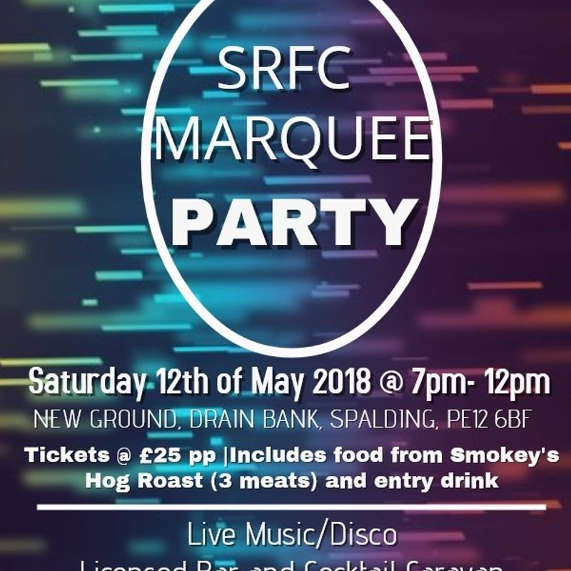 Spalding Rugby Club - Big Marquee Party