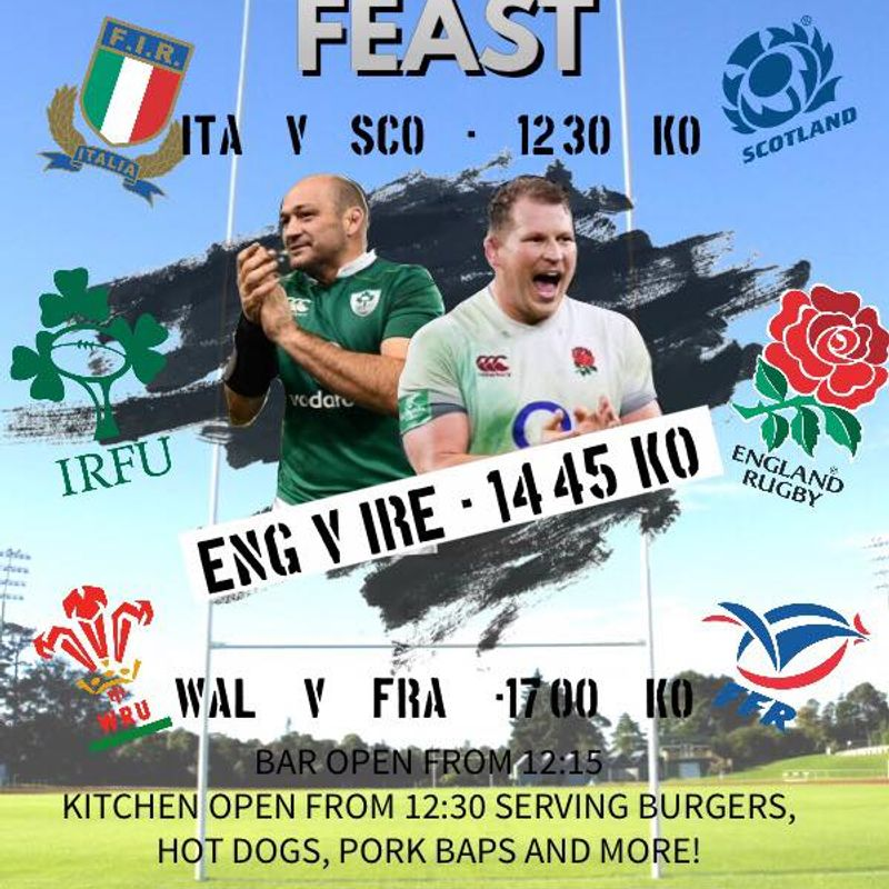 Last Day of Six Nations Event @ Rugby Club