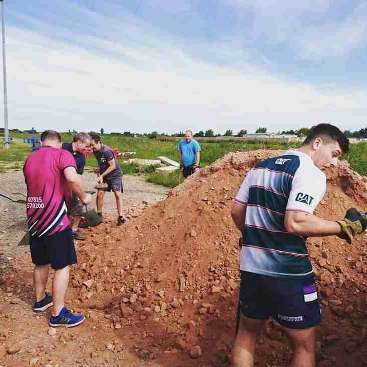 New Ground Work - Saturday 25th August