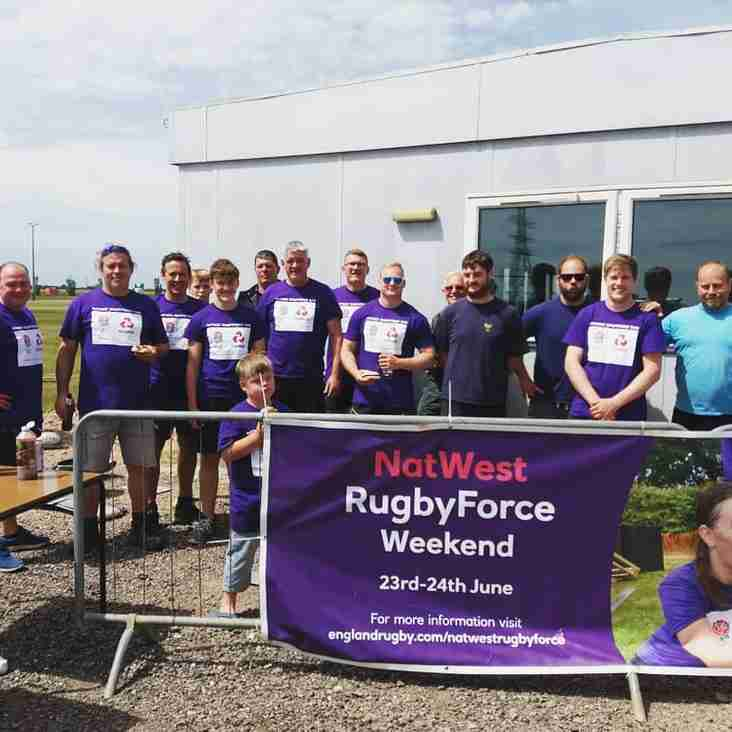 Huge Thanks To All Our Volunteers at the Natwest Rugby Force Weekend