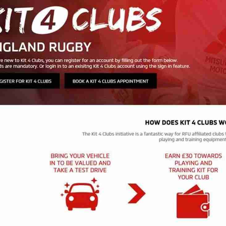 Mitsubushi Kit 4 Clubs Incentive