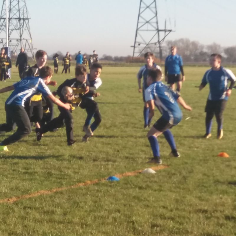 SRFC Helping to Promote Rugby to Local Schools