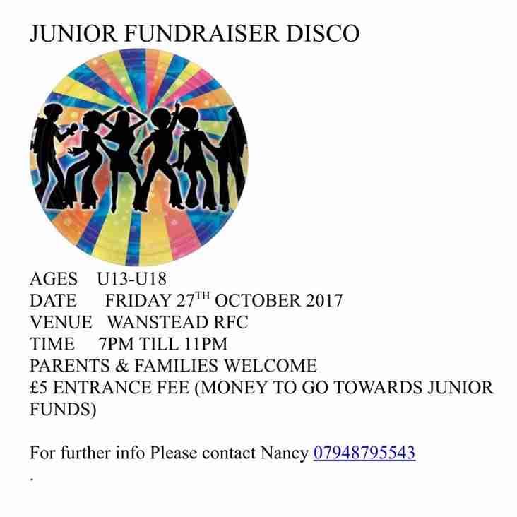 Junior Disco Fundraiser