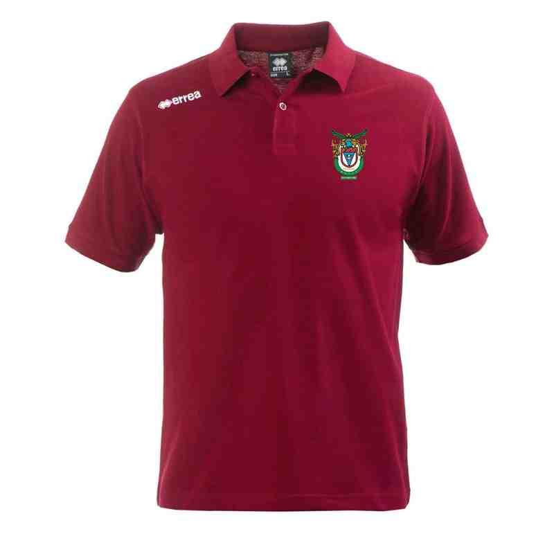 Errea Polo Shirt - Maroon