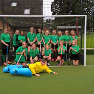 U14 Girls start the season with a 0-6 win