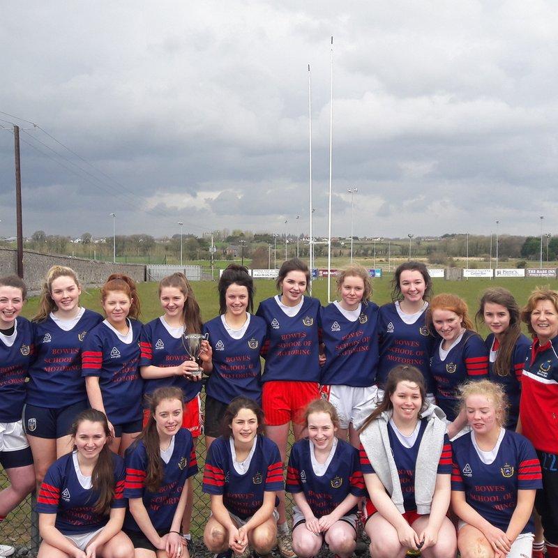 Foxford girls win Connacht 7s title