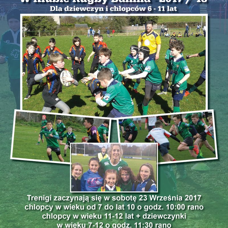 Polish posters for Ballina Mini Rugby