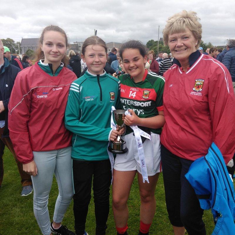 Clara and Laura are All Ireland champions
