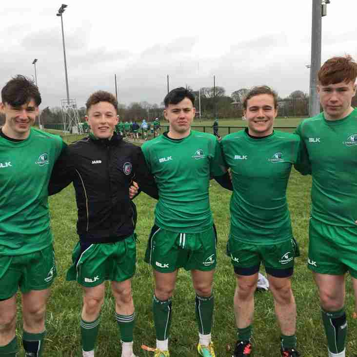 Famous Five all get on the scoreboard for Connacht
