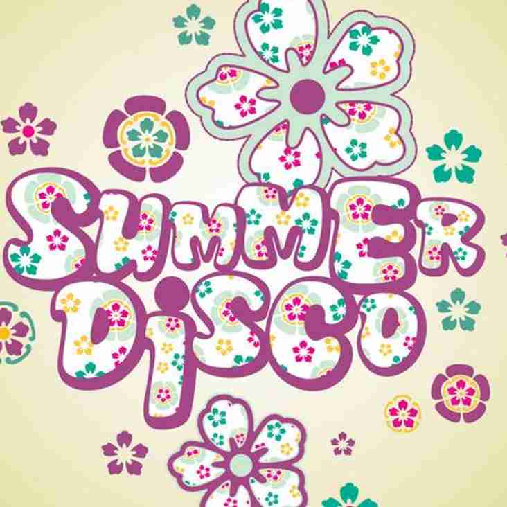 'Start of Summer' Disco in the club on Friday night