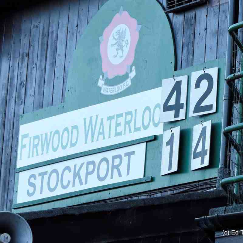Waterloo 1stXV vs Stockport