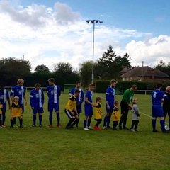 Storrington Vipers mascots v Bexhill United 15/10/16