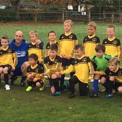 U7s first game
