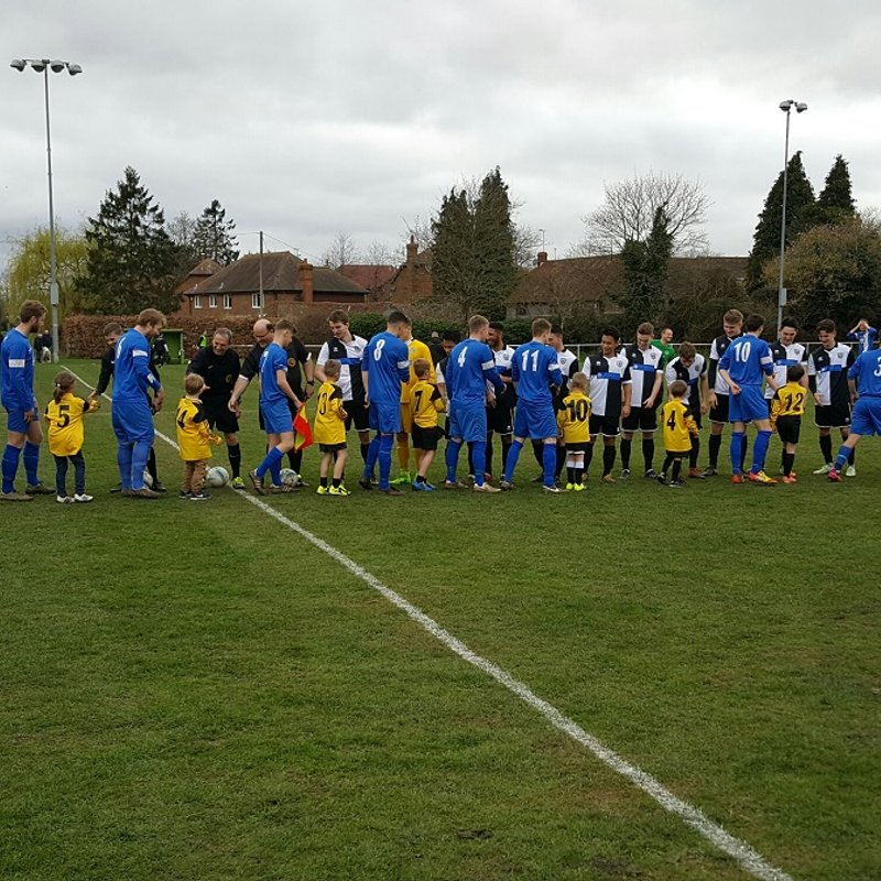 Vipers mascots 18/03/17 v East Preston