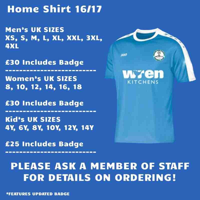 Home Shirt 16/17