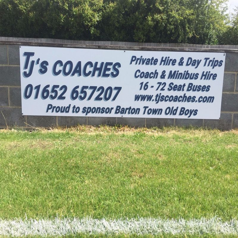 Club News | Barton Town Old Boys FC Sponsor Of The Week! | 24th - 28th October